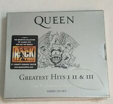 New 3 CD! Queen -Platinum Collection, Greatest Hits Vol. 1-3 (2000, Emi) sealed