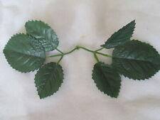 60x=30x2er Deko Rosen Laub Blätter Blatt Künstliche Kunst Seiden Blumen Pflanzen