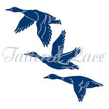 Tattered lace metal  Die set 3 flying ducks etl543