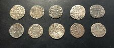 Medieval Silver Hammered Coins:  Numismatic Researchers (Lot of 10) #4