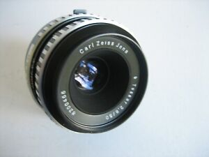 Carl Zeiss Jena DDR ( Zebra Style ) Tessar 2.8 / 50mm Lens