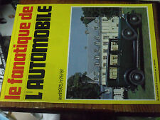 10µµ Revue Fanatique Automobile n°79 Singer SM 1500Delfosse Germain