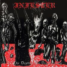 Infester – To The Depths, In Degradatio Vinyl LP Death Metal Sticker, Magnet
