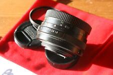 Pentacon Auto 50mm F/1.8 M42 Screw Mount Manual Focus Lens - VGC