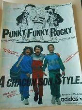 Pub Adidas à chacun son style Punky Funky Rocky Advert 1983