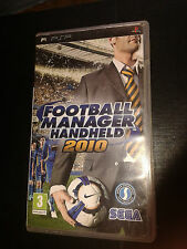 * Sony Playstation PSP Game * FOOTBALL MANAGER HANDHELD 2010 *