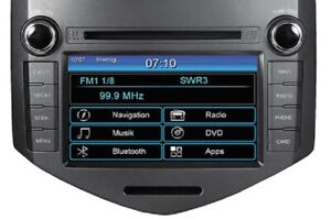 ESX VN710-CV-AVEO Car Radio, GPS, Head Unit Chevrolet Aveo T300 Since 2011