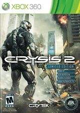 XBOX 360 CRYSIS 2 LIMITED EDITION GAME EXCELLENT CONDITION