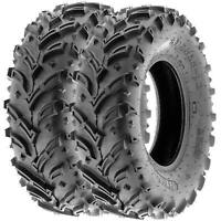 SunF 25x8-12 ATV UTV Tires 25x8x12 Mud Tubeless 6 PR A024-1  [Set of 2]