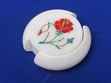 Marble Inlay Coaster Pietra Dura Handicrafts Home Decor for Gift