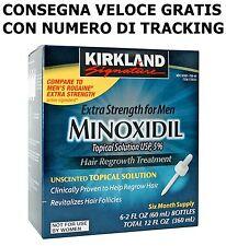 MINOXIDIL KIRKLAND 5% LOZIONE - 6 MESI DI TRATTEMENTO - VALIDO AL NOVEMBRE 2019