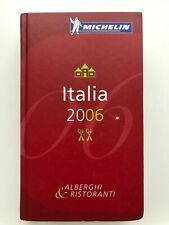 Guide Michelin Italia 2006
