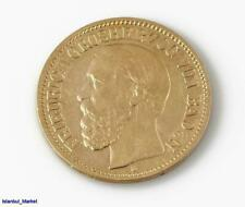 1873 Friedrich GRAND DUKE OF BADEN G 10 Mark Germany Gold Coin