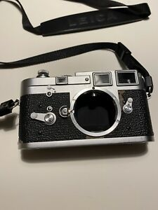 Leica M3  SS single stroke camera rangefinder Perfect working condition