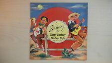 MUSICARD Happy Birthday Western Style 33 rpm 1958