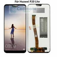 ECRAN LCD + VITRE TACTILE pour HUAWEI P20 LITE NOIR + outils Neuf AR02FR