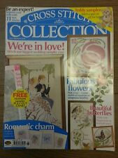 CROSS STITCH COLLECTION MAGAZINE # 92 WEDDING CARDS FLOWERS ROSE BUTTERFLIES