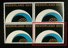 Plaatfout Mast 773PM Postfris in BLOK van 4 CW € 18