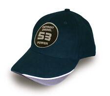 DETROIT DIESEL 53 POWER NAVY BASEBALL CAP/HAT