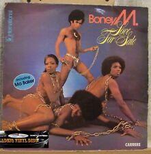 ♪♪  33 T  VINYL - BONEY M - LOVE FOR SALE  ♪♪