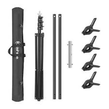 6.5Ft  Photography Photo Backdrop Support Stand Set Background Crossbar Kit
