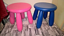 2 IKEA  MAMMUT Children's stool, in/outdoor,