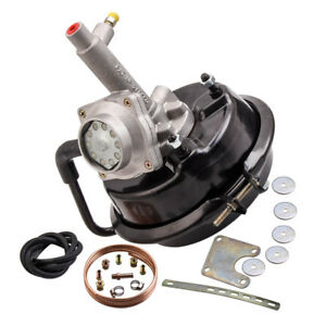 Remote Mount Vacuum Brake Booster and Mounting kit Drum Braked Vehicle for VH44
