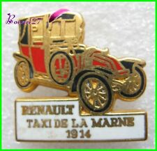 Pin's Collection Voiture RENAULT Car TAXI de la MARNE 1914 #40