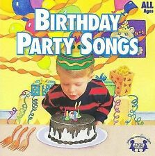Birthday Party Songs Music CD 2000 by Twin Sisters - Disc Only No Case