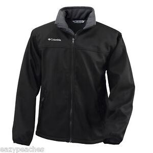 Columbia Sports Soft Shell Jacket Coat MEDIUM, XL, XXL, BLACK, BEET RED