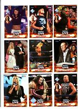 TNA 2013 Impact Live Wrestling By Tristar Complete 100 Card Base Set AJ Hardy FD