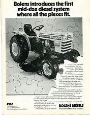 1980 Bolens Diesel G242 Farm Tractor Print Ad
