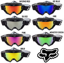 FOX MAIN MOTOCROSS MX GOGGLE CHROME MIRROR LENS fits MAIN bmx mtb quad