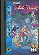 Dragons Lair Sega CD --Game only
