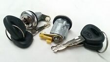 MAZDA CAPELLA 808 929 121 DOOR LOCK LOCKS PAIR WITH KEYS LEFT & RIGHT HAND