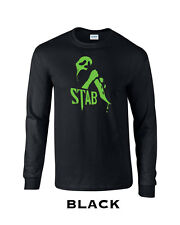 351 Stab Mask Long Sleeve college 90 slasher funny movie scary halloween cool