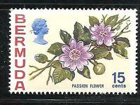 Album Treasures Bermuda Scott # 264  15c Flower Passion Flower Mint NH