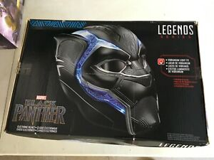 Hasbro Marvel Legends Series Black Panther Electronic Helmet 1:1 Scale Wearable