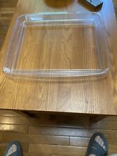 Longaberger top protector for a Hostess file basket.