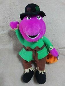 "Nanco Barney Halloween 2009 Lyons 13"" Plush"