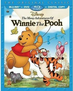 MANY ADVENTURES OF WINNIE THE POOH (2PC) (+DVD) NEW BLURAY