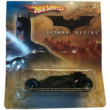 Rare 2005 Batman Begins Hot Wheels Diecast Car Promo Version Batmobile New H6294