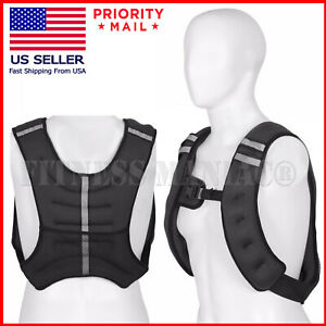 Weighted Weight Vest 10 lbs 20 lbs 30 lbs 35 lbs 40 lbs 50 lbs 60 lbs 70 lbs NEW