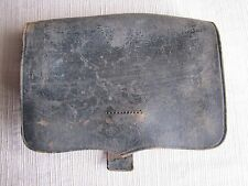 US Civil War Infantry Cartridge Box-Small Ammo Pouch-J.E. Condict New York