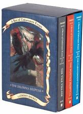 A Box of Unfortunate Events:The Dilemma Deepens 7-9 Hardcover Book Series/Set