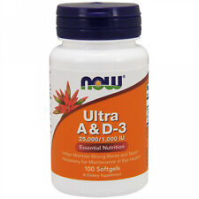 Now Foods, Ultra A And D-3, 100 Softgels