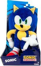 "*RARE* TOMY Modern Sonic The Hedgehog Deluxe Plush 12"" SEGA Toy Doll 2017"