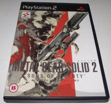 Metal Gear Solid 2 Sons of Liberty PS2 PAL *No Manual*