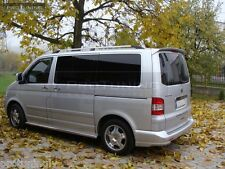 VW T5 03-15 Transporter Multivan Caravelle rear bumper flaps extension spoiler