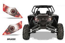 AMR Racing Arctic Cat Wildcat GT/X/LTD UTV Headlight Eye Sticker Decals SPLICED